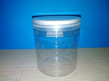 300ml Plastic Jar with Transparent Cap and Insert